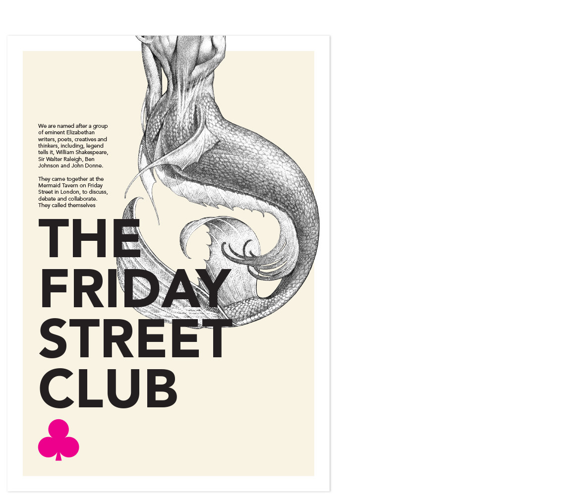 The Friday Street Club Poster