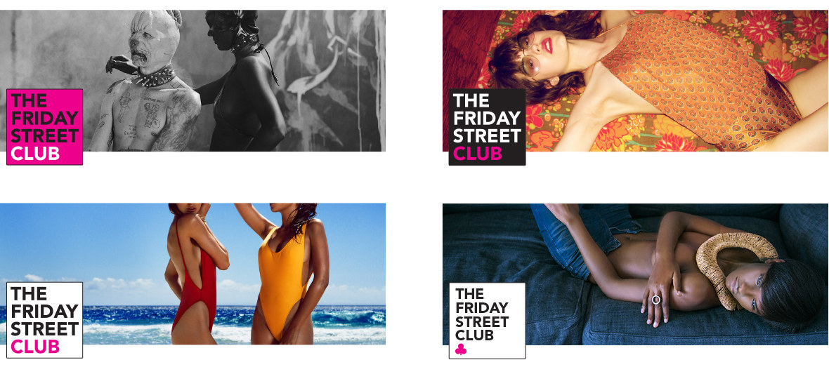 The Friday Street Club Facebook Layouts