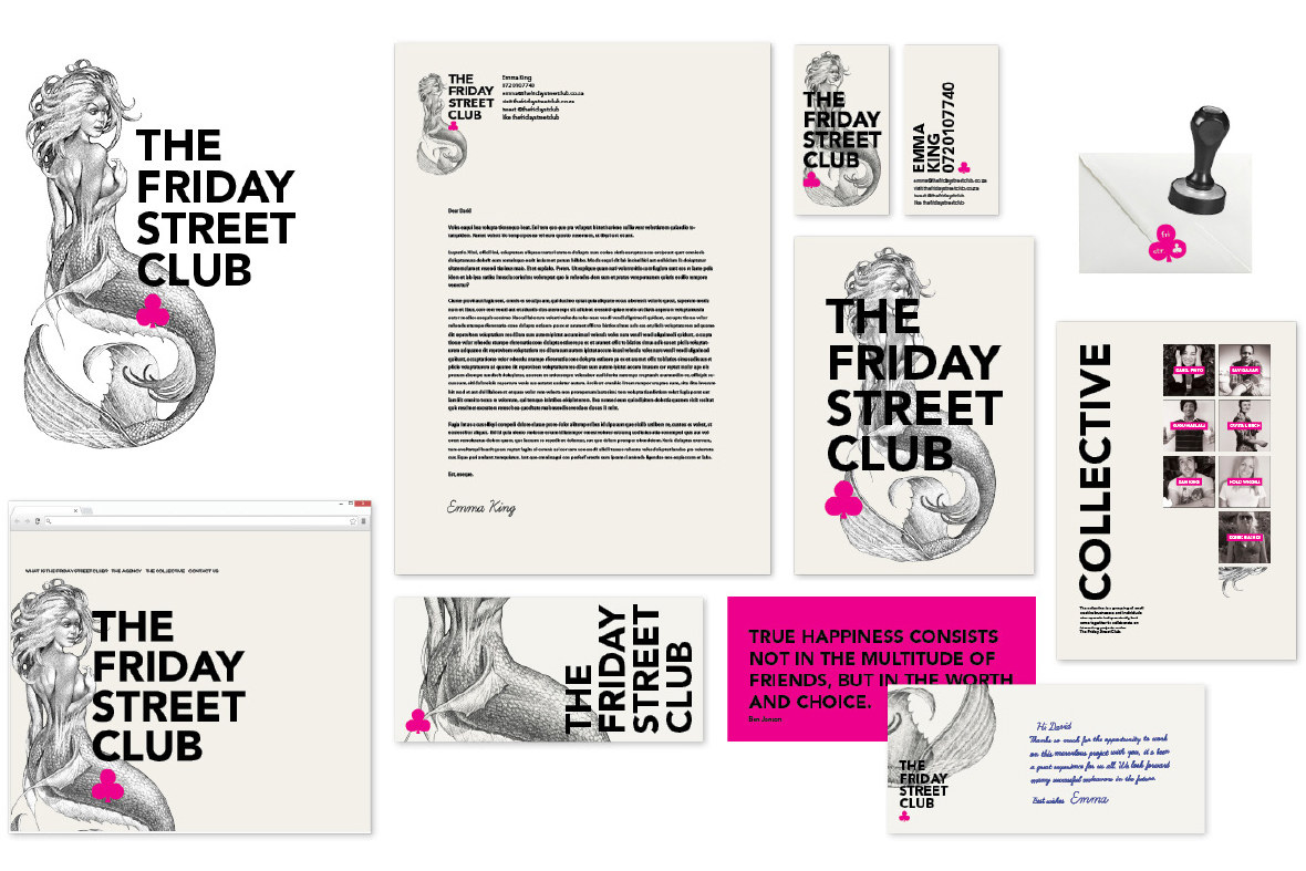 The Friday Street Club Collateral