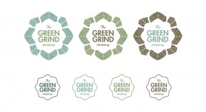 The Green Grind Co. Logo Variations