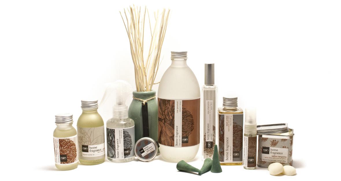 Rain Home Fragrance Range