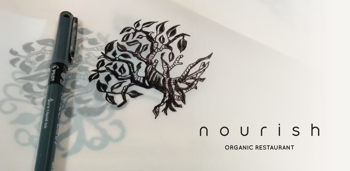Nourish Logo illustration