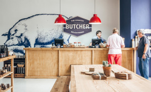 The Country Butcher Interior