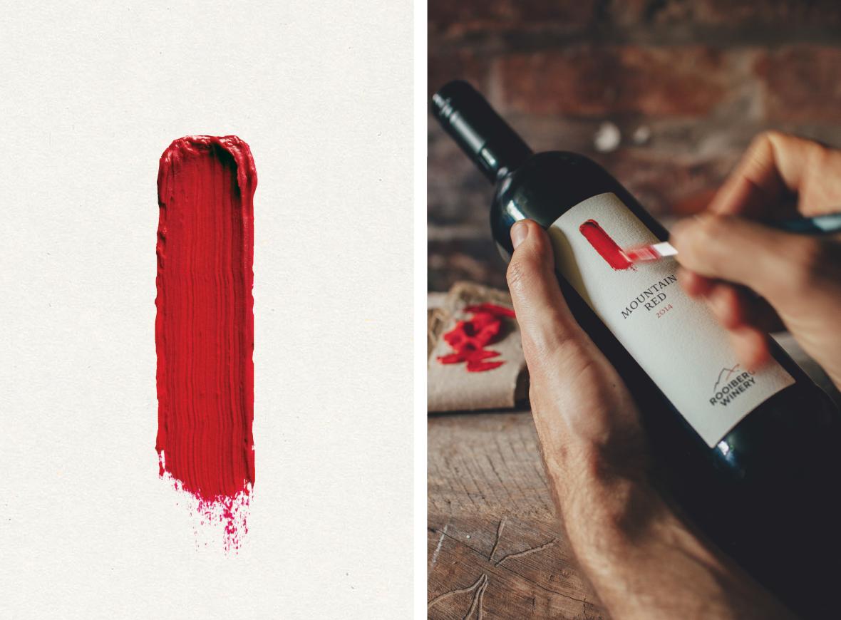Rooiberg Winery Label