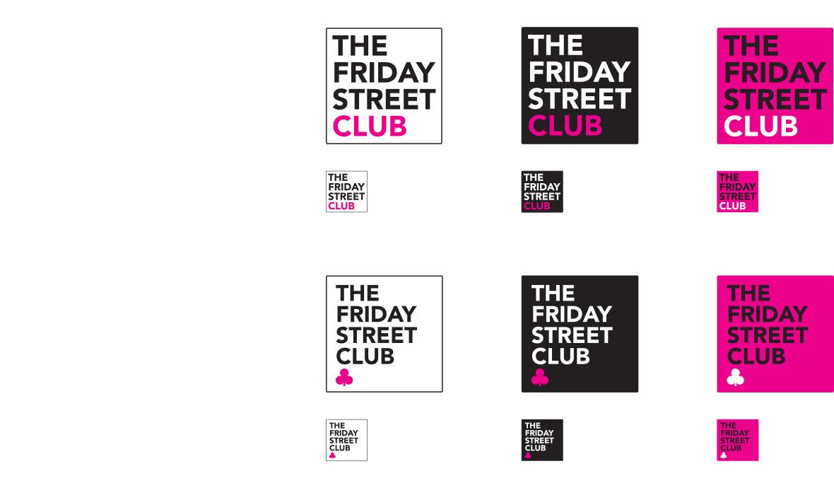 The Friday Street Club Social Media Icons