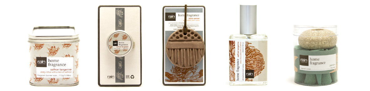 Rain Home Fragrance Range