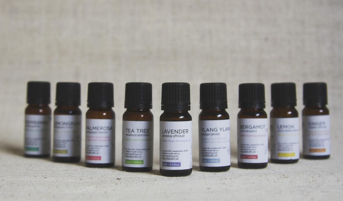 Rain Essential Oils Range