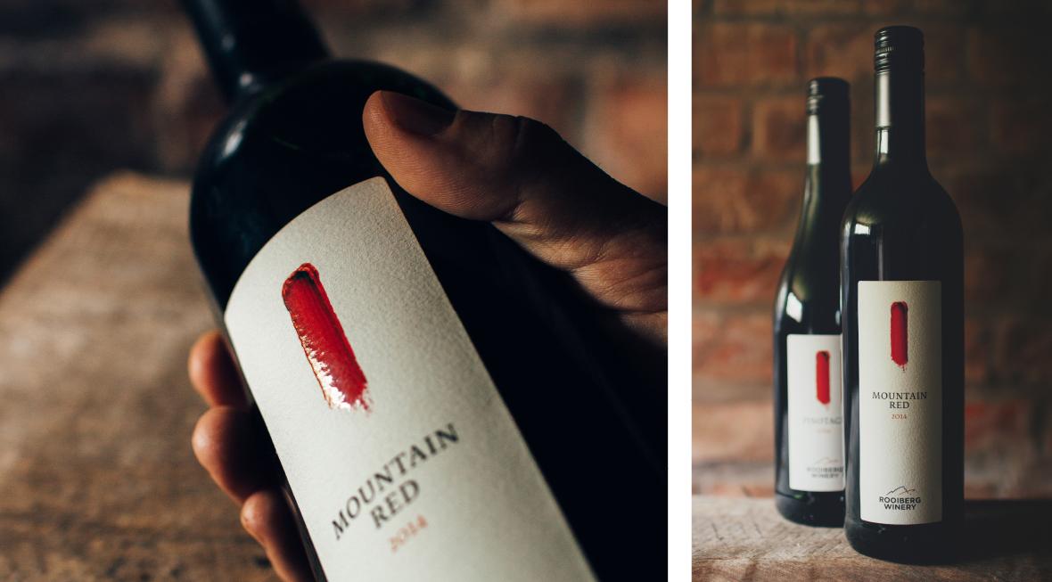 Rooiberg Winery Bottle Detail Label