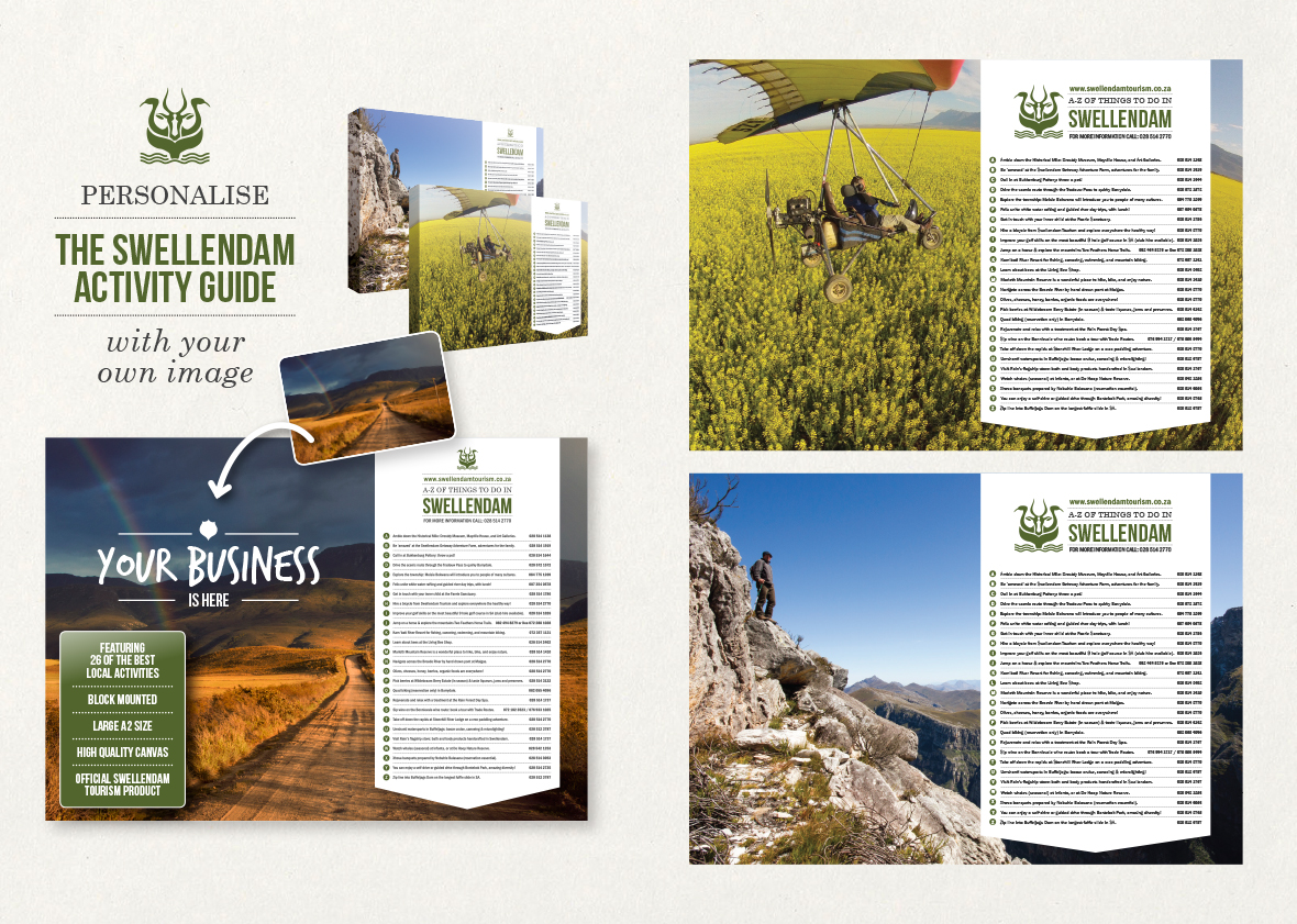 Swellendam Tourism Organisation Sales Kits
